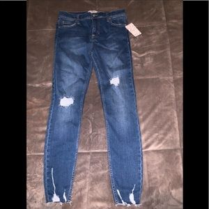 Free people distressed jeans /brand new with tags